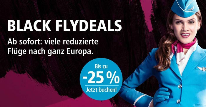 Eurowings Black Flydeals