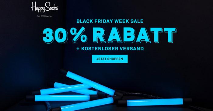 Happy Socks Black Friday Week Sale