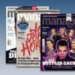 3x Manager Magazin für 17,90€ + 25€ Amazon Gutschein