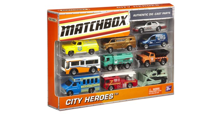 Matchbox Lightning World Geschenkset