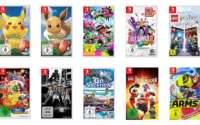 Nintendo Switch Spiele Aktion
