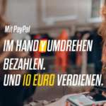 PayPal Google Pay Aktion: 3x mit Google Pay bezahlen = 10€ PayPal Guthaben