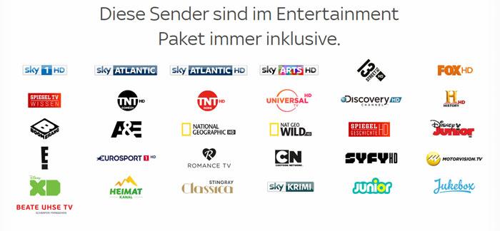 Sky Entertainment Sender