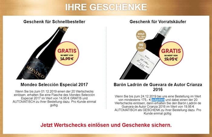Wein & Vinos Geschenk
