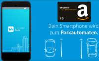 WePark App Amazon Gutschein