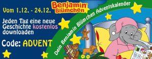 Benjamin Blümchen Adventskalender - Jeden Tag neue kostenlose Geschichte