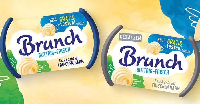 Brunch buttrig-frisch Margarine