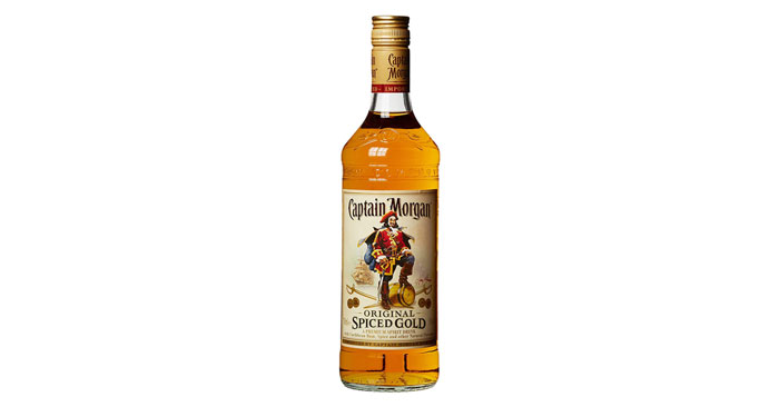 Captain Morgan Original Spiced Gold Rumverschnitt