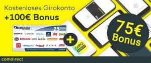 Comdirect Girokonto Startguthaben