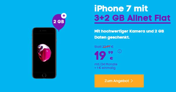 Apple iPhone 7 + Blau Allnet L