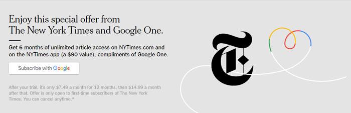 New York Times ePaper