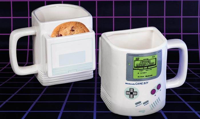 Nintendo Tasse Kekse Fach