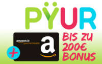 PYUR Internet + Amazon Gutschein