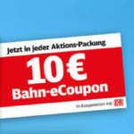 Ferrero Bahn Aktion Reisefieber: 10€ Bahn Gutschein in hanuta, Yogurette & duplo Aktionspackungen