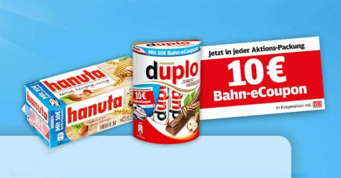 Ferrero Bahn Aktion