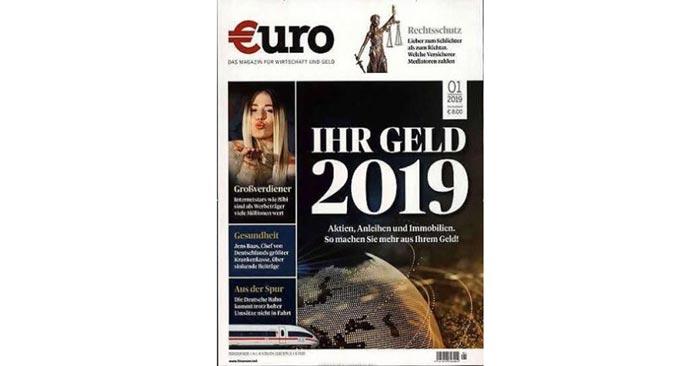 Jahresabo Euro