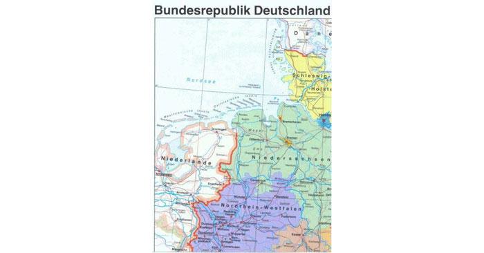 Deutschland Karte kostenlos