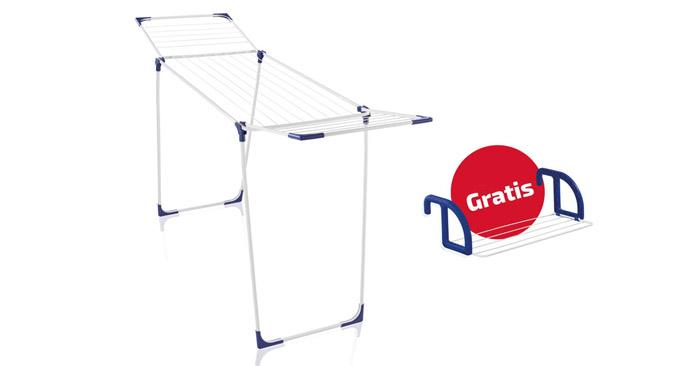 Leifheit Standtrockner Classic 180 Solid + Hängetrockner Classic 25