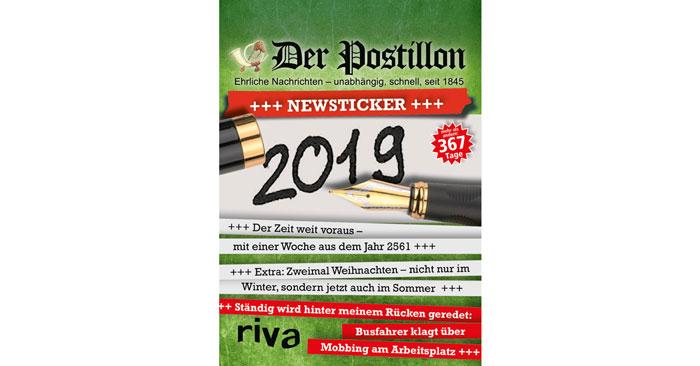 Der Postillon Kalender 2019