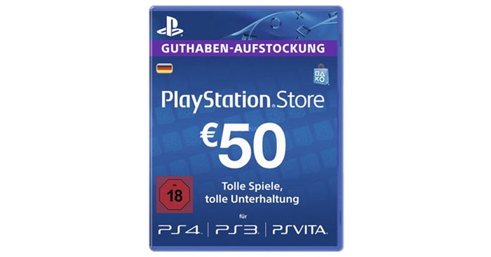 Playstation Store Guthaben