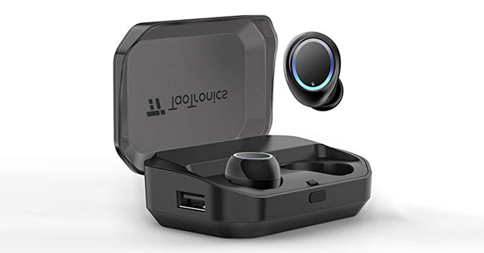 taotronics bluetooth in ear kopfh rer true wireless 5 0. Black Bedroom Furniture Sets. Home Design Ideas
