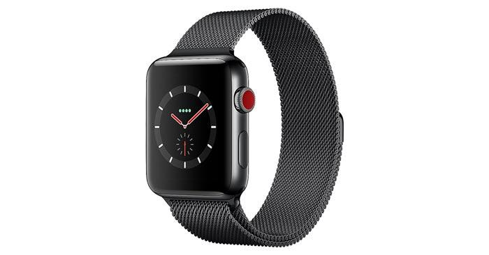 Apple Watch Series 3 LTE 42mm Edelstahlgehäuse