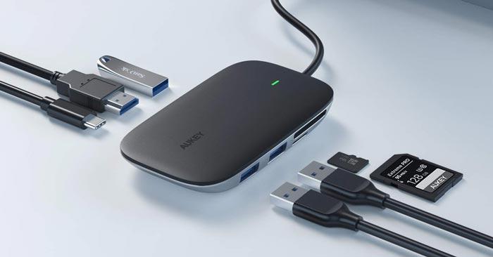Aukey USB-C Hub