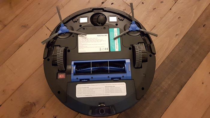 Unterseite eufy Saugroboter RoboVac 30C