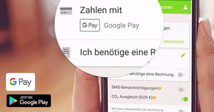 FlixBus/FlixTrain Google Pay Aktion