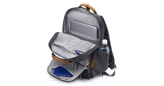 Innenansicht HP Envy Urban Backpack