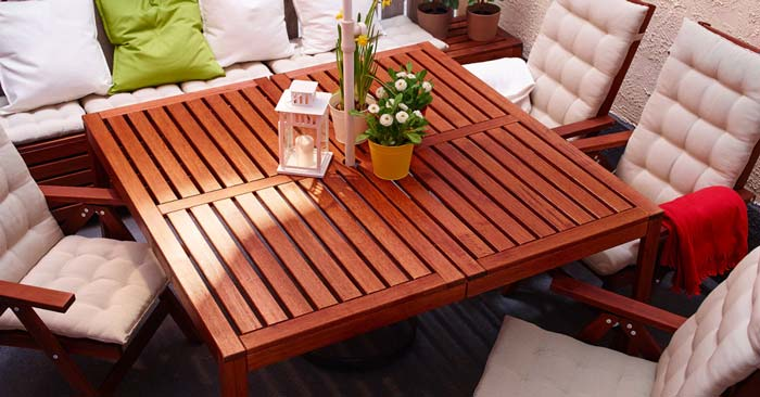 IKEA Äpplarö Gartentisch