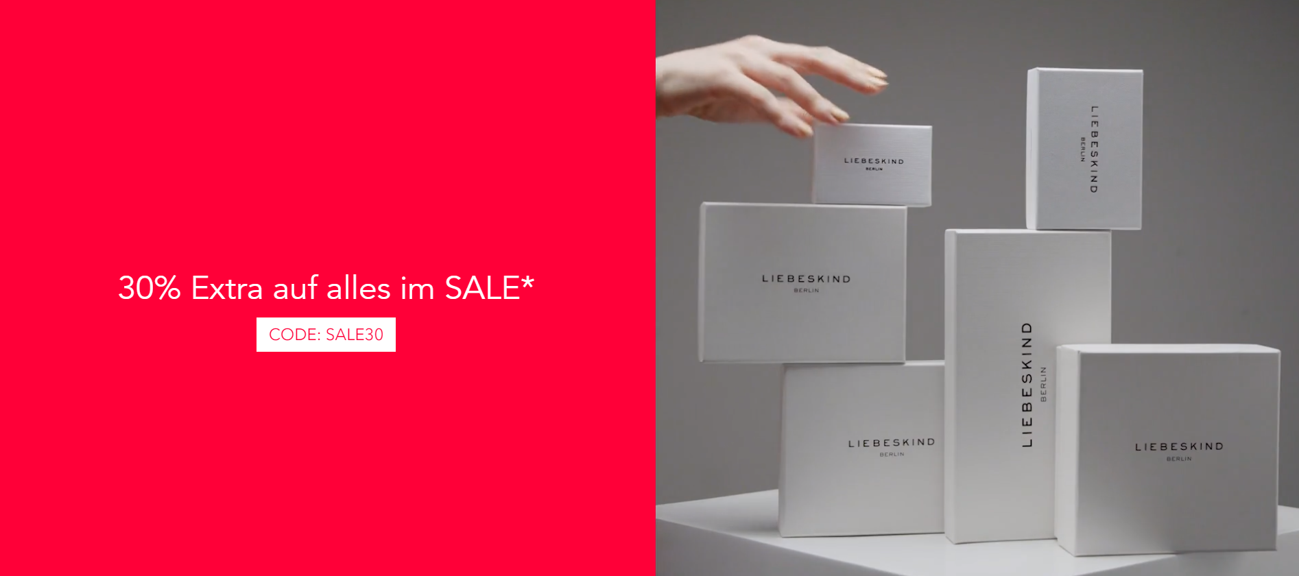 Liebeskind Sale + 30% Gutschein