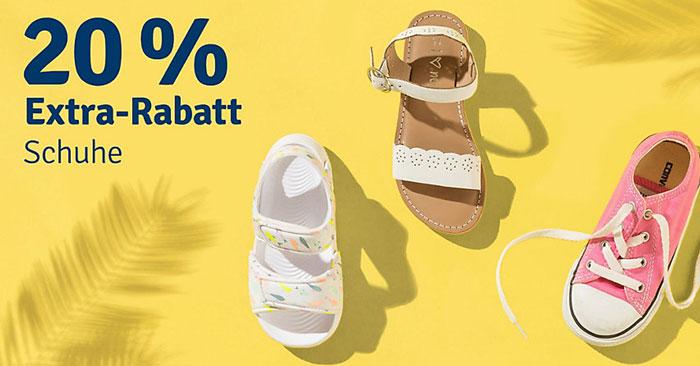 20% myToys Gutschein auf Schuhe für Kinder (auch Sale)
