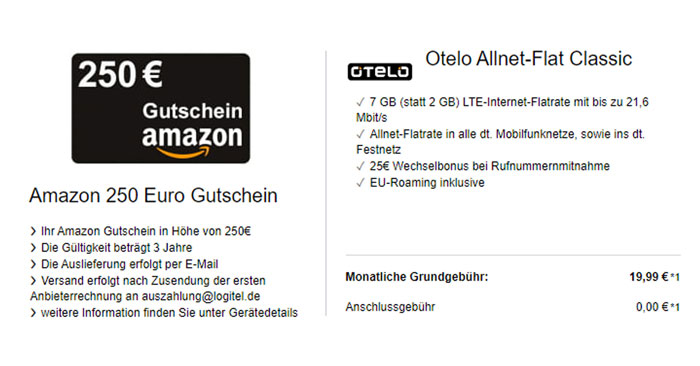 Otelo Allnet Flat Classic LTE