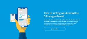 PayPal Google Pay Aktion
