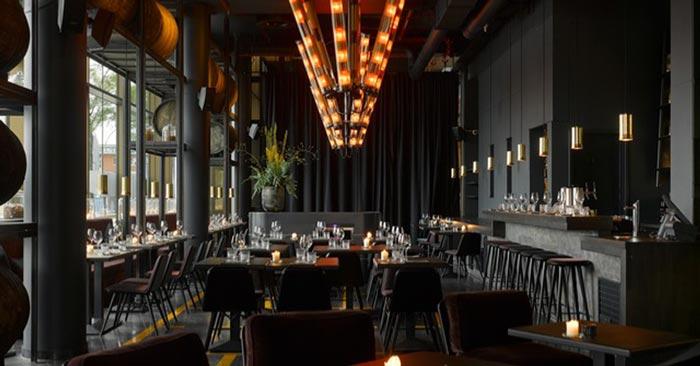 Frühstücksraum 25hours Hotel Hamburg HafenCity