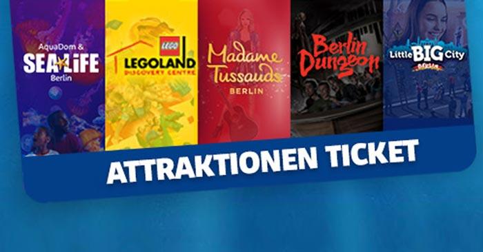 4 Attraktionen Ticket Berlin