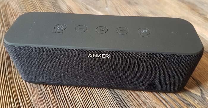 Anker SoundCore Boost von oben