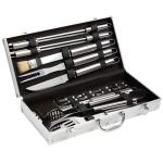 Bruzzzler Grillbesteck im Koffer (18-teilig) für 16,24€