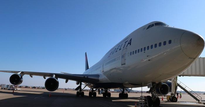 Delta Airlines Business Class Flug