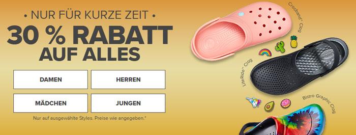 Crocs Rabatt