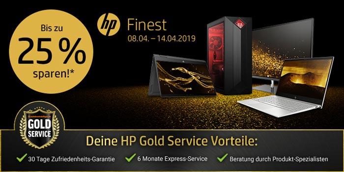 HP Finest Aktion