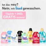 Perwoll Flüssigwaschmittel gratis testen
