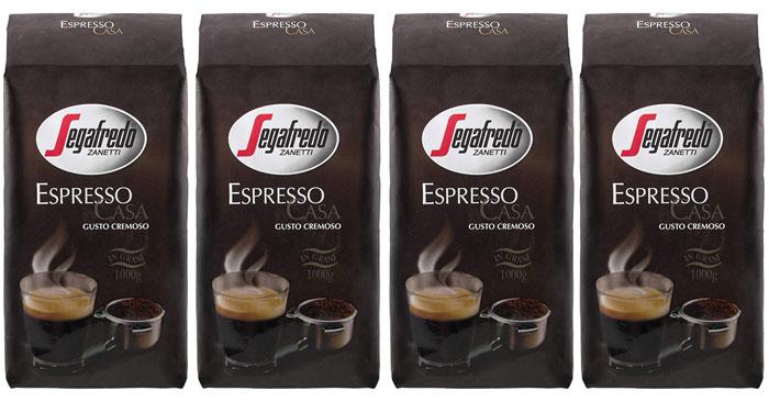 Segafredo Espresso Casa Kaffeebohnen