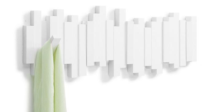 Umbra Sticks Garderobe Weiß