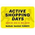 Active Shopping Days 2019 – 20% Sportscheck Gutschein, 15% Home24 Gutschein & mehr