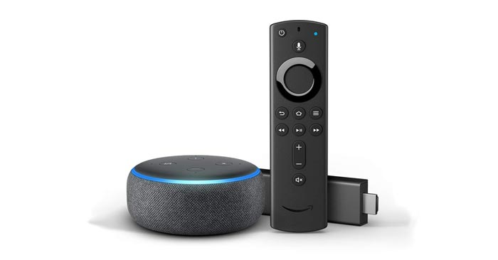 Amazon Bundle: Fire TV + Echo Dot