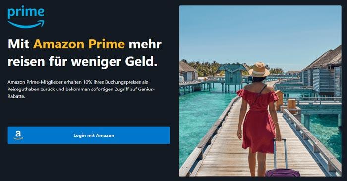 Booking.com Cashback Amazon Prime
