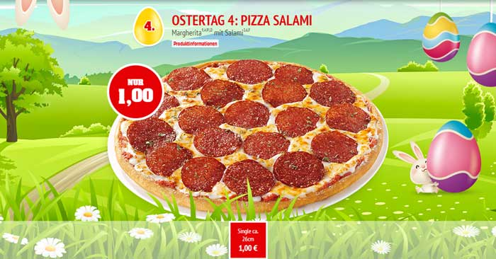 Call a Pizza Osterkalender