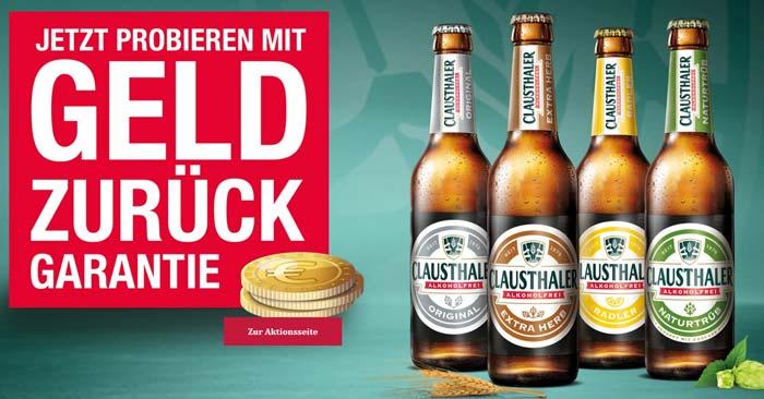 Clausthaler Alkoholfrei gratis testen